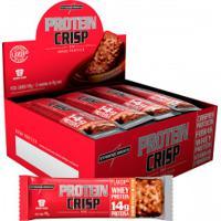 Barra De Proteina Integralmédica Crisp Peanut - 12 Unidades