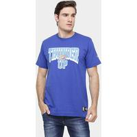 Camiseta New Era Nba Playoffs Up Oklahoma City Thunder - Masculino-Azul Royal