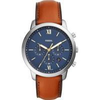 Relógio Fossil Masculino Neutra Chrono - Fs5453/0Mn Fs5453/0Mn - Masculino-Marrom