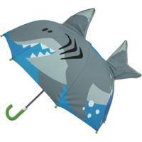 Guarda-Chuva Infantil Stephen Joseph 3D Tubarão