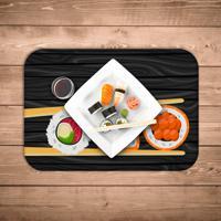 Jogo Americano Wevans Sushi