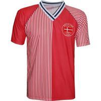 Camisa Liga Retrô Dinamarca 1986 - Masculino