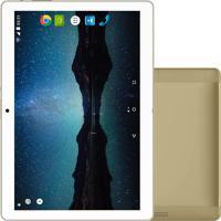 "Tablet Multilaser M10A Lite Nb268 10"" 8Gb Wi-Fi + 3G Dourado"