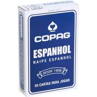 Baralho Espanhol Azul - Copag - Tricae