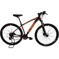 Bicicleta Mtb Alum 29 Ksw Shimano 24 Vel Freio Disco Hidráulica - Unissex