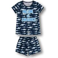 Pijama Marisol Adulto Feminino - 10316496F Azul