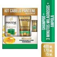 Kit Pantene Shampoo + Condicionador Restauração 1 Unidade