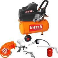Compressor De Ar 25 Litros 2 Hp Ce325 Plus C/ Kit Pintura - Intech Machine