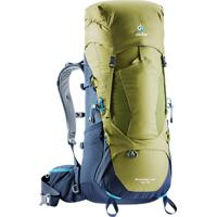 Mochila Semi Cargueira Deuter Aircontact Lite 40+10 2018 Para Trekking Verde E Azul