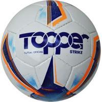 bd2d770233ded Netshoes; Bola Topper Strike Futsal Oficial Com Costura - Unissex