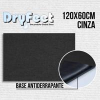 Tapete Dryfeet Cinza 120X60Cm