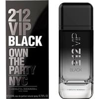 Perfume Masculino 212 Vip Black Carolina Herrera Eau De Parfum 200Ml - Masculino-Incolor
