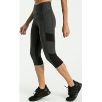 Calça Legging Esportiva Com Detalhe Refletivo