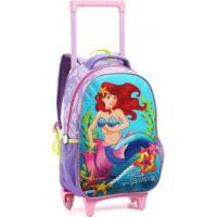 Mochila Infantil Com Rodas Seanite Sea Princess