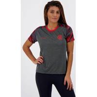 Camisa Flamengo From Feminina - Feminino-Cinza