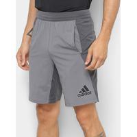 Short Adidas 4Krft Woven 10'' Maculina - Masculino-Cinza