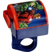 Buzina Para Bike Avengers®- Azul Escuro & Vermelha- Etilux