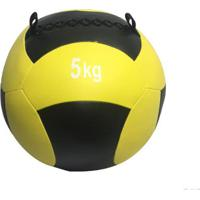 Wall Ball 5Kg Medicine Ball Crossfit Treinamento Funcional Wct Fitness - Unissex