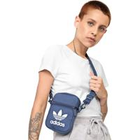 Bolsa Adidas Originals Shoulder Bag Fest Trefoil Azul
