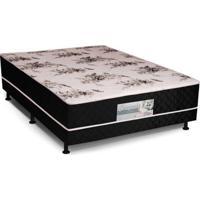 Cama Box Conjugada Casal Mola Bonnel 138X188X55Cm - Pitol