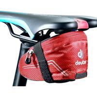 Bolsa De Selim Mochila Para Bicicleta 0,8 Litros Com Etiqueta Refletiva Vermelho - Deuter Bike Bag I