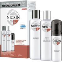 Kit Nioxin Loyalty Kit Sistema 4 Shampoo 300Ml + Condicionador 300Ml + Leave-In 100Ml - Unissex-Incolor