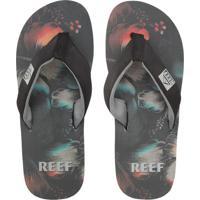 Chinelo Reef Mc Clurg Ht Print-A Cinza