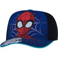 Boné Infantil Cm Imports Marvel Homem-Aranha - Azul