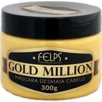 Felps Profissional Desmaia Cabelo Máscara Gold Million 300G - Feminino