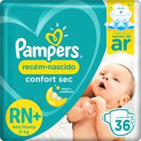Fralda Pampers Confort Sec Recém-Nascido 36 Tiras