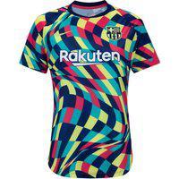 Camisa Pré-Jogo Barcelona 20/21 Nike - Feminina