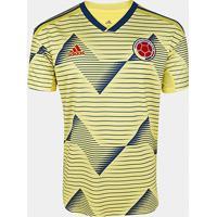 Camisa Colômbia Home 19/20 S/N° Torcedor Adidas Masculina - Masculino