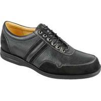Sapato Casual Masculino Conforto Sandro Moscoloni Dayton Preto Black