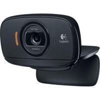 Webcam C525 Hd 720P Rotação 360º Com Microfone Logitech