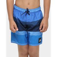 Bermuda Adidas Yb Aop - Masculino-Azul+Marinho