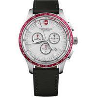 Relógio Victorinox Swiss Army Masculino Couro Preto - 241819