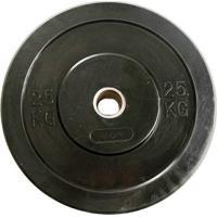 Anilha Crossfit Bumber Borracha Preta Gears - 25Kg - Unissex