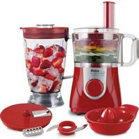 Multiprocessador All In One Citrus Philco Vermelho 220V