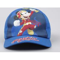 Boné Infantil Aba Curva Mickey Azul