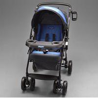 Carrinho De Beb&Ecirc At6 K - 2055 - Preto / Azul