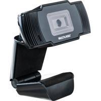 Webcam Office Hd 720P Multilaser Ac339 Usb Preta