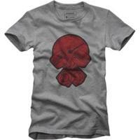 Camiseta Reserva Pistão - Masculino-Cinza