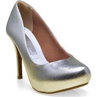 Sapato Fem Ramarim 16-40201 Prata