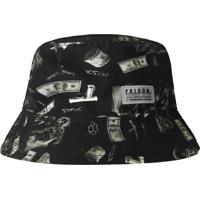 Chapéu Prison Bucket Hat Dollar Preto
