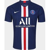 Camisa Paris Saint-Germain Home 19/20 S/N° Torcedor Nike Masculina - Masculino