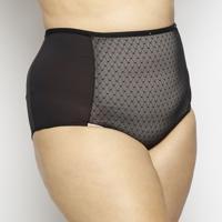 Calcinha Hot Pant Com Recorte- Pretamorisco