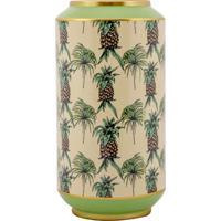 Porta Guarda-Chuva De Porcelana Ananás - Linha Pineapple