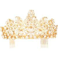 Dolce & Gabbana Acessório Para Cabelo De Coroa - Dourado
