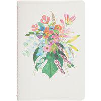 Caderneta Meu Pequeno Jardins Sem Pauta Costela De Eva - Branco