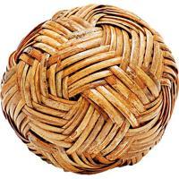 Bola Decorativa- Bege- Ø19Cm- Btc Decorbtc Decor